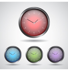 Set watch icon vector