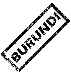 Burundi rubber stamp vector
