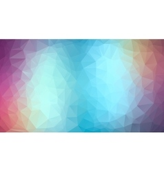 Blue and violet abstract polygonal background vector