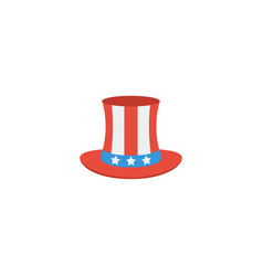 flat icon uncle sam element vector image