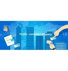 Plc public limited company vector