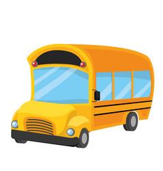 school bus design vector image