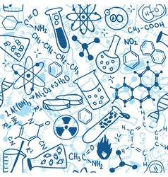 science drawings vector image vector image
