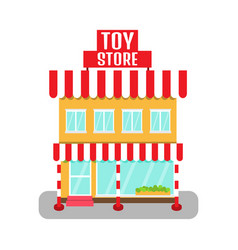 toy store icon vector image vector image