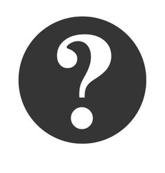 bubble help speech question design vector image