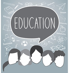 People of education concept vector