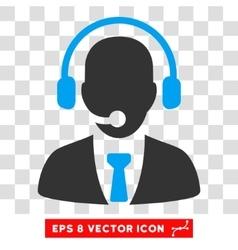 Call Center Eps Icon vector image