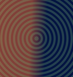 Dark background design with concentric circles vector