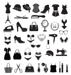 Fashion accessories - vector