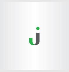 J logo letter symbol vector