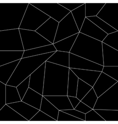 Geometric simple black and white minimalistic vector
