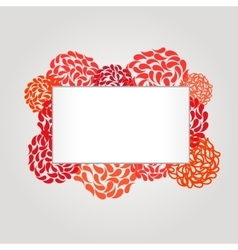 Banner and frame for web design vector