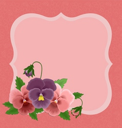 greetings card for mothers day vector image