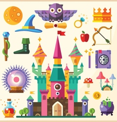 Magic and fairy tale vector image vector image