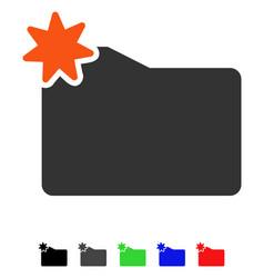 New folder flat icon vector