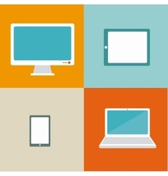 Tech device vector image