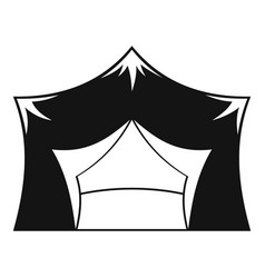 Awning tent icon simple style vector