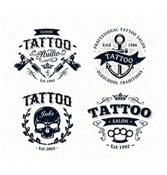 Tattoo emblems 2 vector