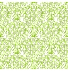 Seamless repeating pineapple pattern on vector