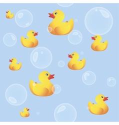 Rubber Ducks vector image vector image