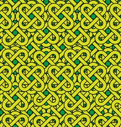 Celtic seamless pattern abstract vintage geometric vector