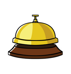 Concierge bell vector