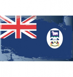 Falkland Islands national flag vector image vector image