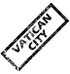 Vatican city rubber stamp vector