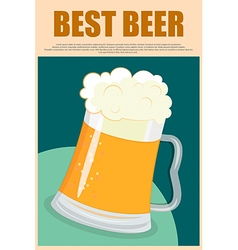 Best Beer vector image