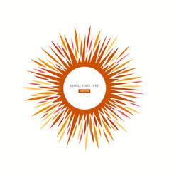 Sun icon sign vector