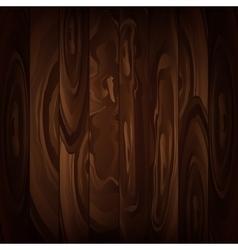 Wood texture brown background vector