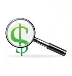 finance symbol vector image