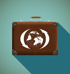 Suitcase Stock vector image