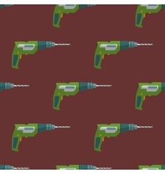 Electric drill seamless pattern vector
