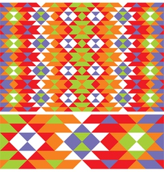 Mexican ethnic pattern vector