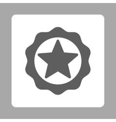 Award seal icon from award buttons overcolor set vector