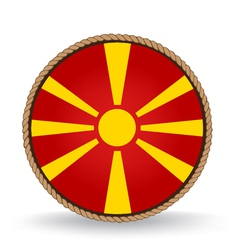 Macedonia seal vector