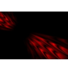 Red black stripes abstract motion vector image