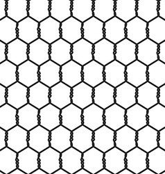 Seamless Wire Mesh vector image vector image
