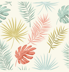 Summer retro pattern vector