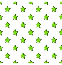 Geometrical figure of five pointed stars pattern vector