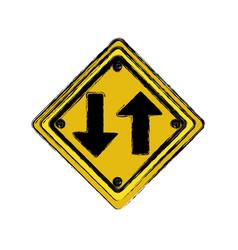Emblem warning notice icon vector