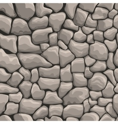 Stones wall seamless texture vector