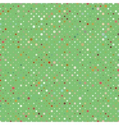 Polka dots pattern background vector