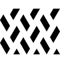 Design seamless quadrangle geometric pattern vector