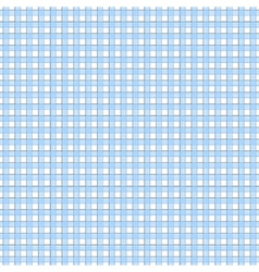 Blue white check seamless pattern vector image