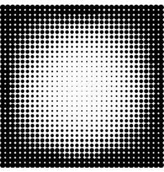 Halftone backgroundhalftone dots frameabstract vector