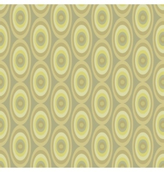 Abstract khaki pattern from ovals vector