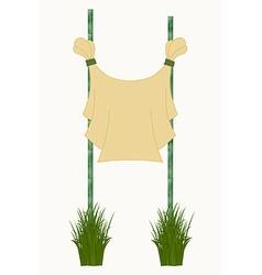 Bamboo sticks vector