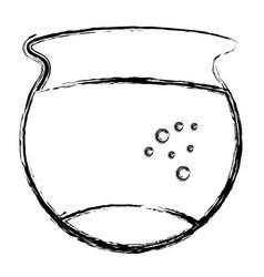 fish aquarium isolated icon vector image